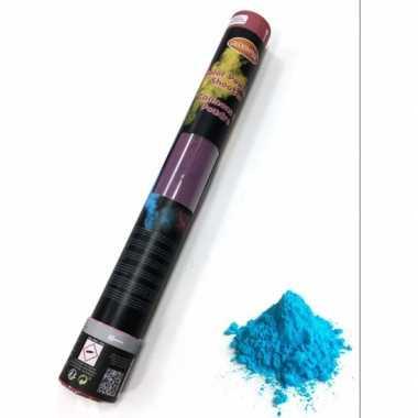 Kleurpoeder shooter blauw 40 cm kopen