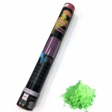 Kleurpoeder shooter groen 40 cm